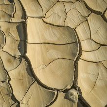 Photo: Cracked earth, Badwater Basin, Death Valley National Park.