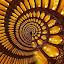 Fibonacci Ratio by Abdul Salim - Abstract Patterns (  )