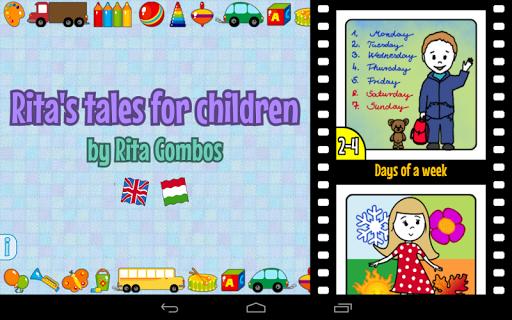 Rita's tales for children screenshot 9