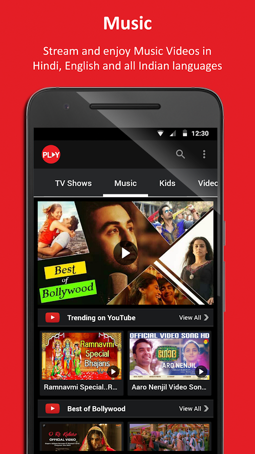 Vodafone Play Live TV| Movies| TV Shows| News- screenshot