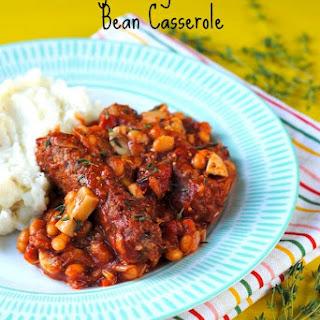Turkey Sausage and Mixed Bean Casserole Recipe