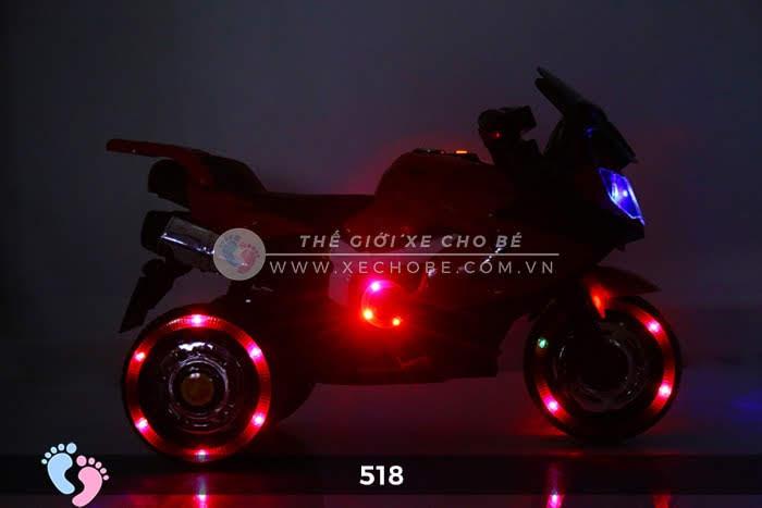 Xe mô tô điện thể thao cho bé 518 7