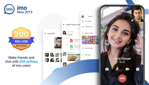 imo free video calls and chat 2019.9.21 screenshots 1