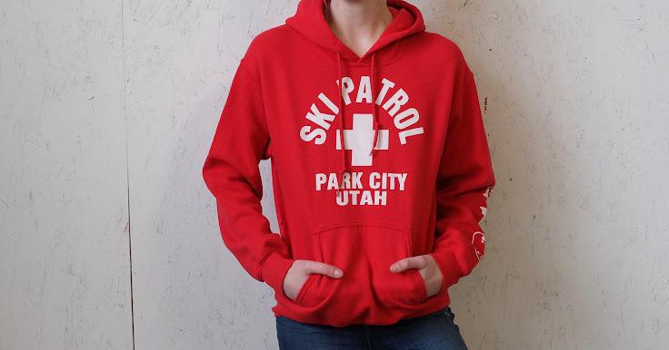 The definitive Park City Ski Patrol Hoodie.