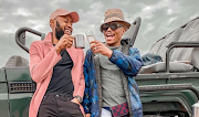 Somizi and Mohale escaped to the bush.