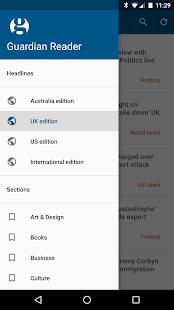 Guardian Reader - náhled