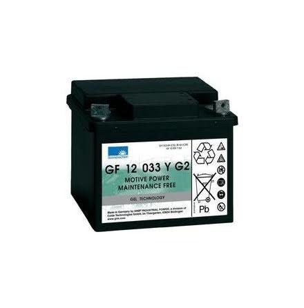 Sonnenschein gelbatteri 12V/33Ah