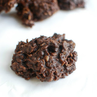 Chocolate Peanut Butter Coconut No Bake Cookies