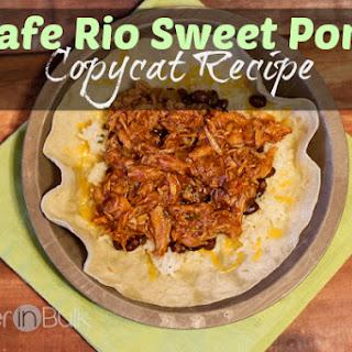 Cafe Rio Sweet Pork Salad Copycat