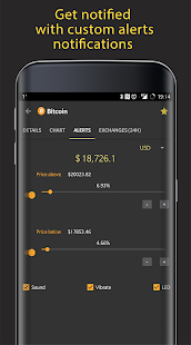CoinMarketApp - Cryptocurrency Tracker Tool- screenshot thumbnail