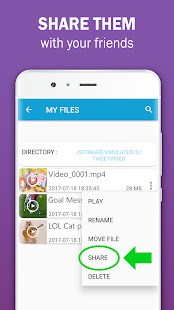 Tweets Manager: Video and Gif Downloader - náhled