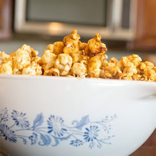Easy Microwave Caramel Corn.