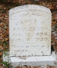 Photo: James H Raulerson son of Noah Raulerson and Mary Ann Altman / Husband of Ada Raulerson