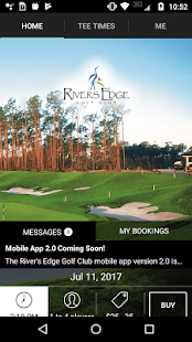 Rivers Edge Golf Tee Times- screenshot thumbnail
