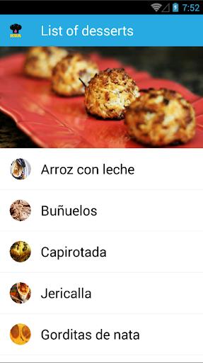 KUA Mexican Dessert