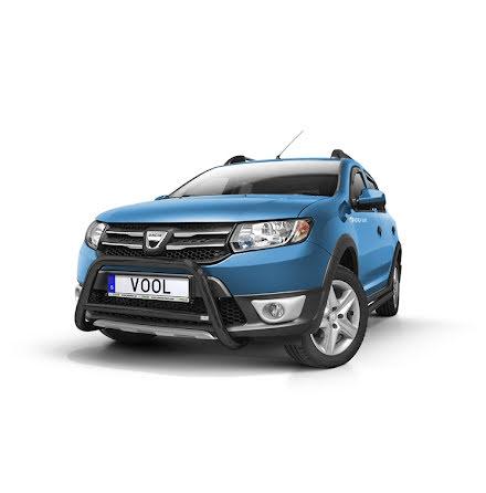 EU Frontbåge (Svart) - Dacia Sandero 2013-