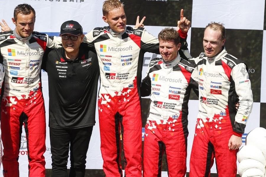 2018WRCラリー・フィンランド優勝