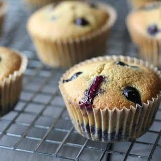Easy Blueberry Muffins (Gluten-Free, Paleo).