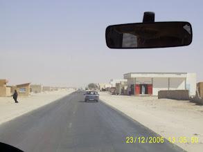 Photo: Die Außenbezirke von Nouakchott. Vor uns liegen 450km Wüste.