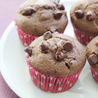 Nigella's Chocolate Chocolate Chip Muffins.