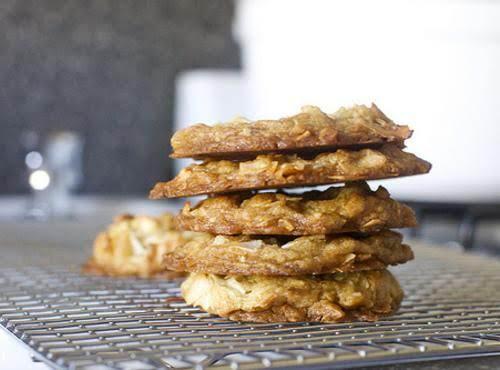 Coconut Brown Butter Cookies Recipe