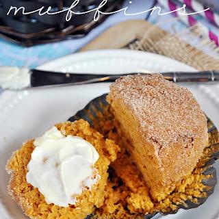 Pumpkin Pudding Muffins.