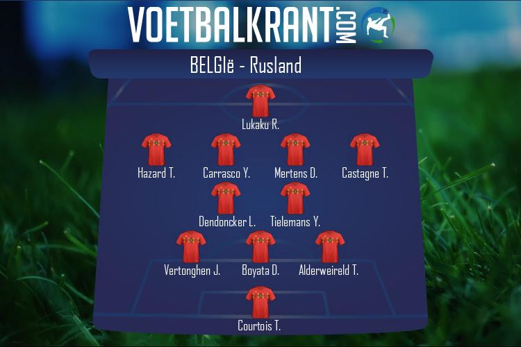 België (België - Rusland)
