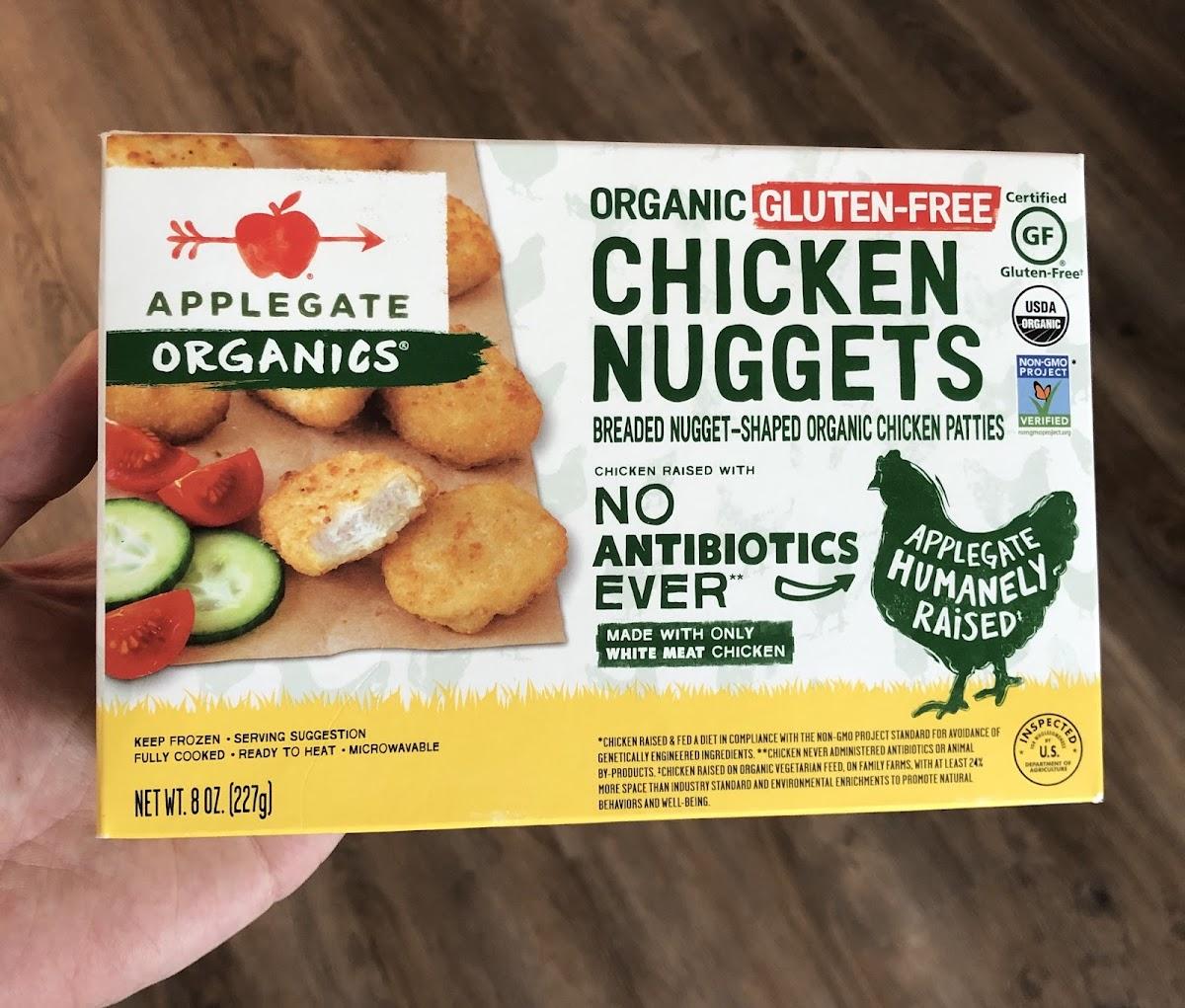Organic Gluten-Free Chicken Nuggets