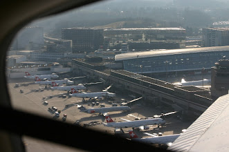 Photo: A bird view of Terminal A http://www.swiss-flight.net