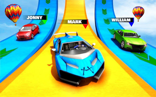 Car Racing Stunt Game - Mega Ramp Car Stunt Games apkpoly screenshots 13