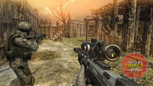 Army Sniper Fury Kill Shot Bravo - FPS War Games 1.1 Mod screenshots 5