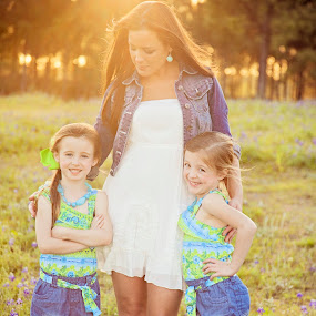 A Mothers Love Is Forever by Christie Lynn - Captioned Photos Mother's Day ( wildflowers, texas, children, bluebonnets, children photography, children photographer, houston photographer, mothers day, mother, family, sunset, photos by christie lynn, mohter daughter, family photography, pwcmothers )