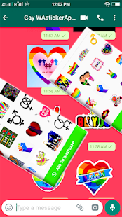 New Gay WAstickerApps for WhatsApp Screenshot