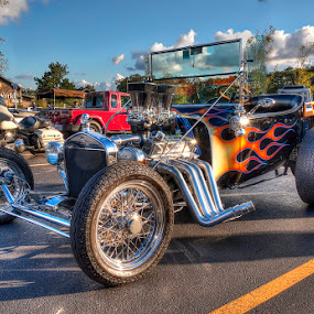 Ford Hot rod by Rich Reynolds - Transportation Automobiles ( car, automobile, rumble seat, hot rod, ford,  )