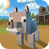 Blocky Wolf Simulator