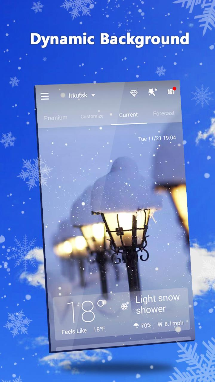 GO Weather - Widget, Theme, Wallpaper, Efficient Screenshot 1