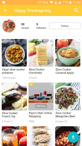 Crockpot Slow Cooker Recipes Screenshot
