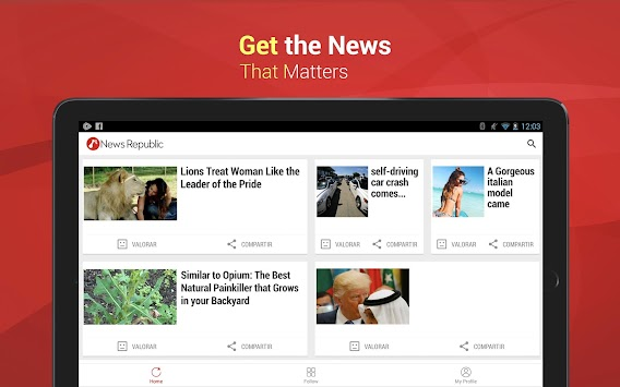 News Republic – Breaking News APK screenshot thumbnail 6