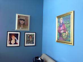 Photo: Artwork by Sydelle Sher Art exhibition at Weissman Center