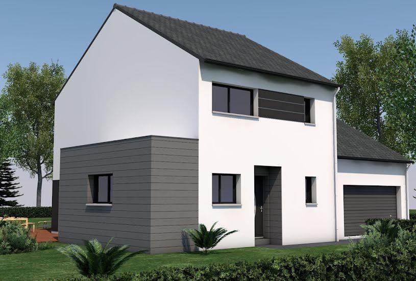 Vente Terrain + Maison - Terrain : 446m² - Maison : 125m² à Nivillac (56130)