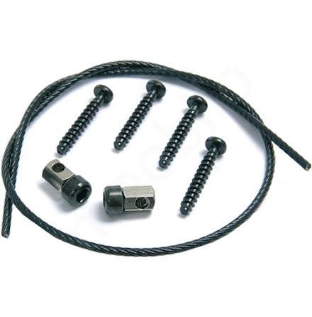 KLICKfix Sikkerhetskabel for adapter (erstatningsett)