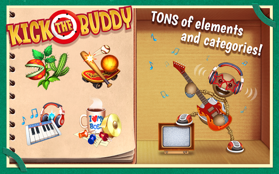 Kick the Buddy apk screenshot