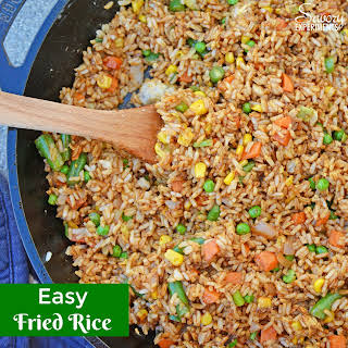 Easy Fried Rice – Restaurant Style.