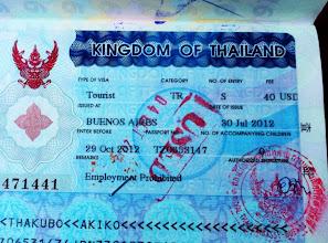 Photo: Bye, bye Thailand!