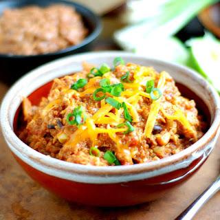 Crock Pot Mexican Quinoa Chicken.