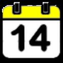 음력표시 달력 icon
