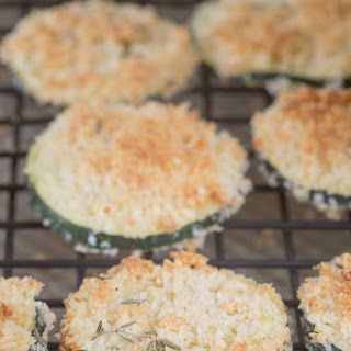 Baked Zucchini Crisps.