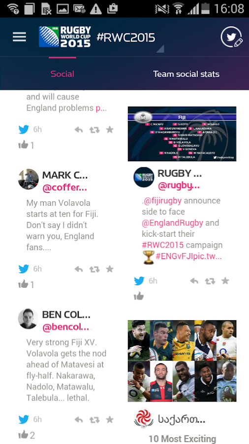 Official Rugby World Cup 2015- screenshot