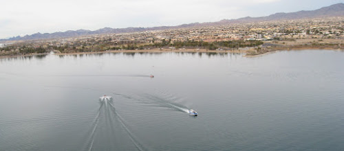 Photo: I saw boats  jet skis  kayaks  &  stand boards on the water