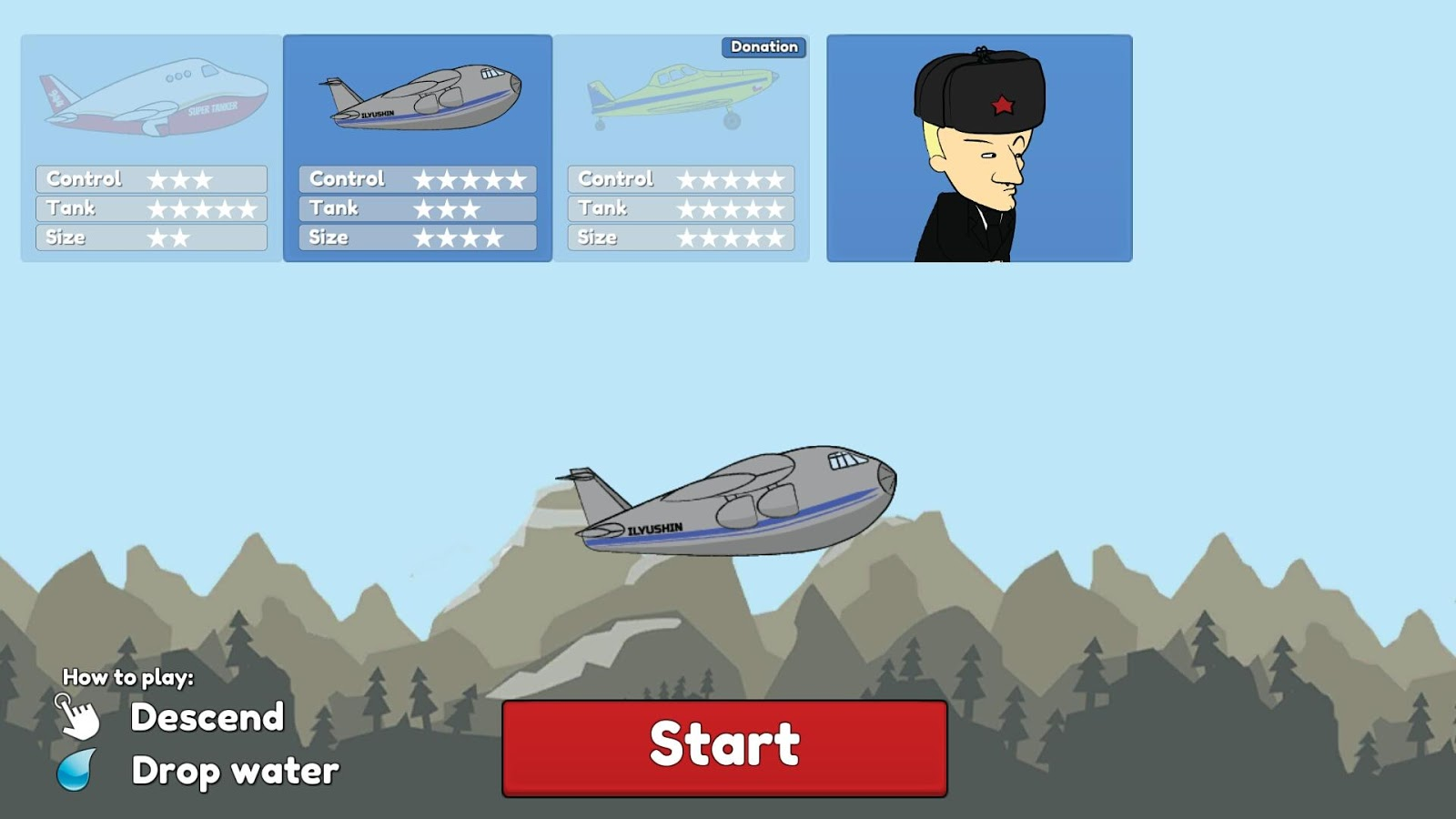 SuperTanker: The Game- screenshot
